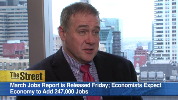 The Street: Guggenheim's Scott Minerd on March Jobs Report & Weak Inflation